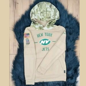 Nike therma Dri-Fit youth hoodie NY JETS